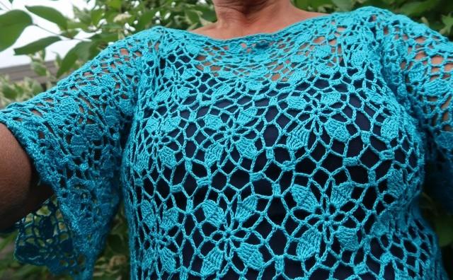 Blauw Gehaakt Truitje Lindevrouwsweb Bloglovin