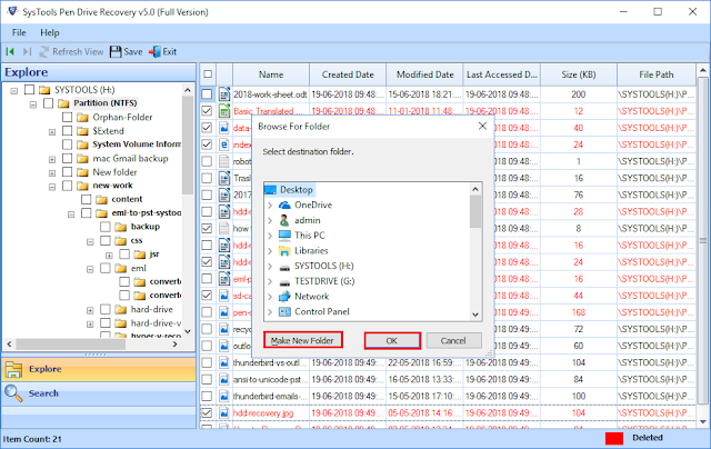 How To Recover Deleted Emails From Pen Drive - Fixed