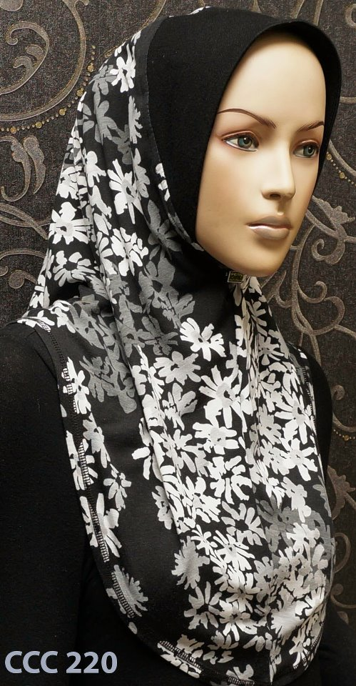 MalabizCoutureEshoppe: Flowery cotton soft awning hijab