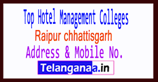 Top Hotel Management Colleges in Raipur chhattisgarh