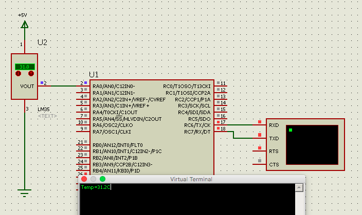 Learning PIC Programing with XC8 Compiler: RS232 Communication
