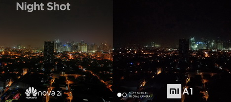 Foto Hasil Kamera Xiaomi Mi A1 vs Huawei Nova 2i