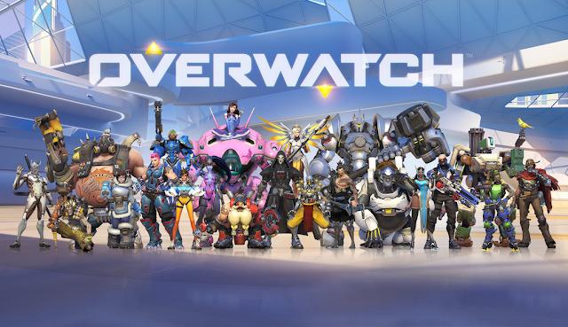 Overwatch o melhor  jogo para se jogar online