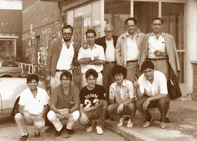 Sidamunt 5 de octubre 1986 - Equipo de 2ª División del C.C. Sant Andreu, octubre de 1986