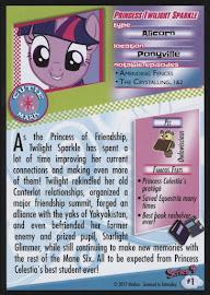 MLP Princess Twilight Sparkle Series 4 Trading Card