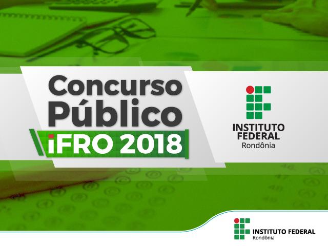 Concurso do IFRO oferece 27 vagas para Docente e TAE