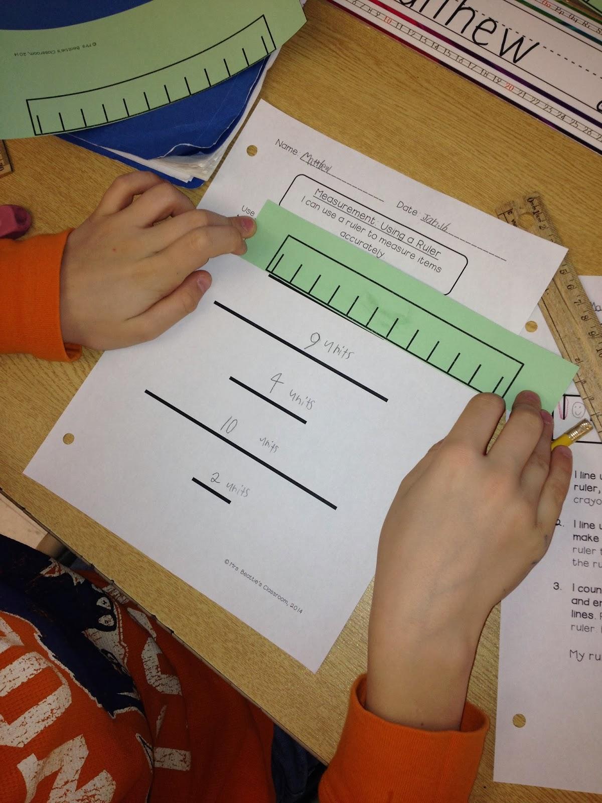 Worksheet Linear Measurement 16th