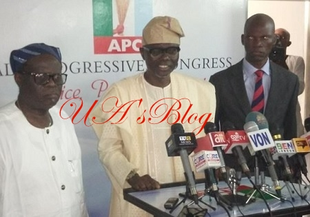 BREAKING: Lagos APC lawmakers dump Ambode, declare support for Sanwo-Olu