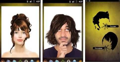 Aplikasi Pengubah Gaya Rambut Android