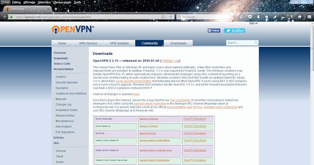 telecharger OpenVPN