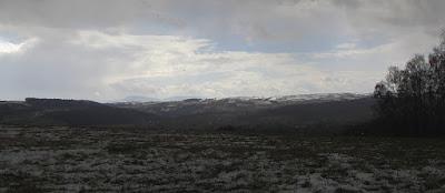 Widoki sięgają północno-zachodnich wzniesień Beskidu Niskiego
