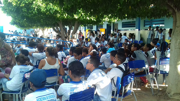 Ação da Campanha 'Proteja' é realizada nas escolas de Delmiro Gouveia