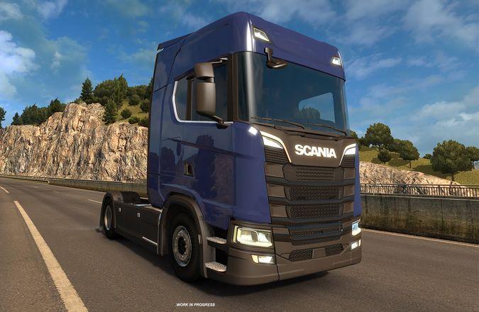 Nova geração Scania chegará ao Euro Truck Simulator 2