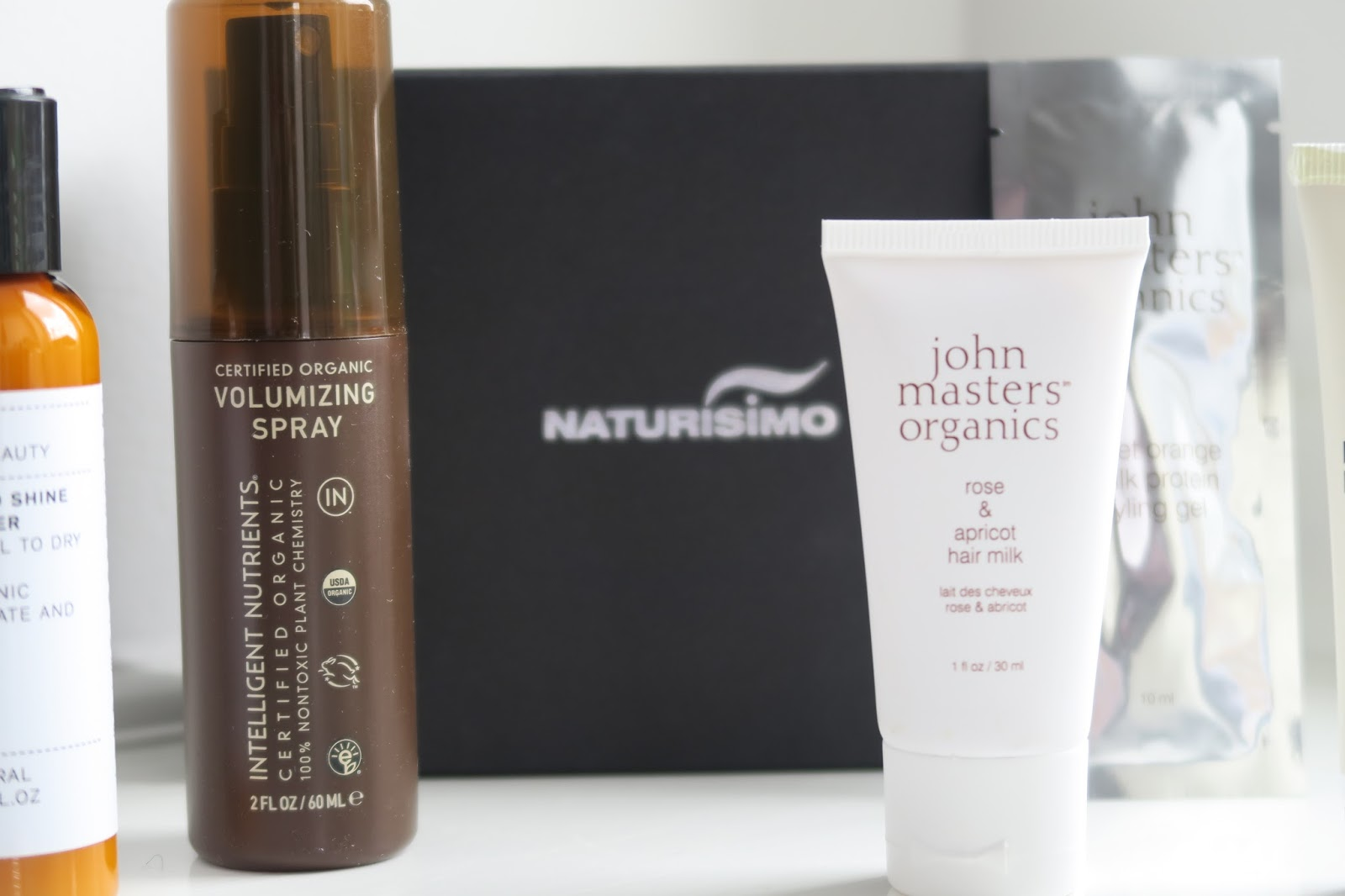 Naturisimo Gorgeous Hair Discovery Box is full of natural and organic hair products.