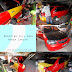 wrapping full body honda lancer merah glossy
