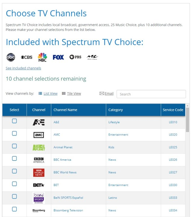 Spectrum Now Offers A 7-Day Trial On A La Carte TV Streaming