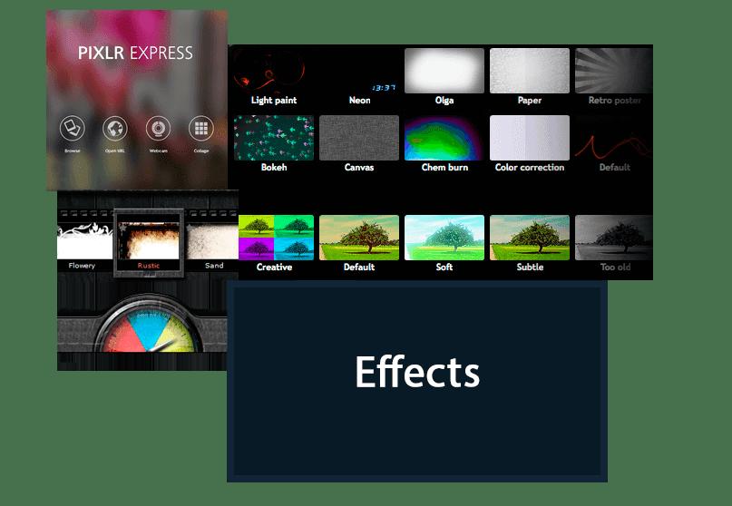 اضافة تأثيرات على الصور أون لاين Free Online Photo Effects