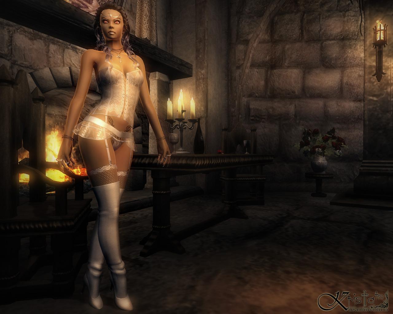 Oblivion erect erotic scene
