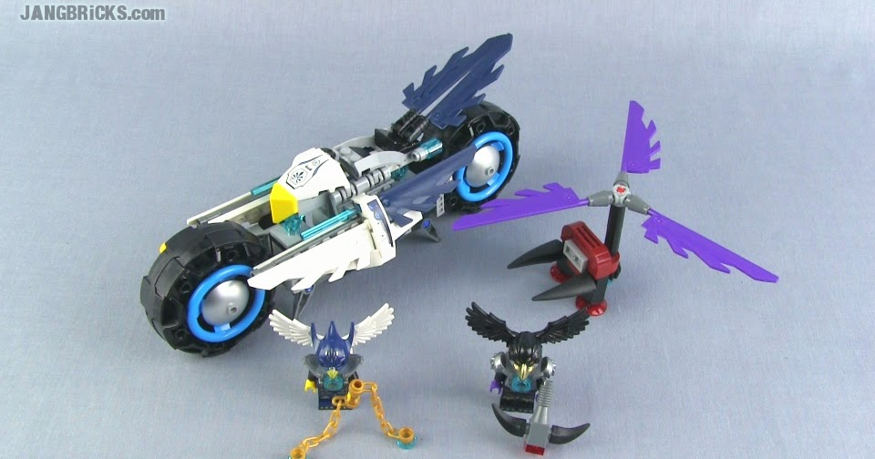 LEGO Legends of Chima Eglor's Twin Bike 70007 set Review!