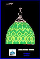 gambar kubah masjid  (motif)