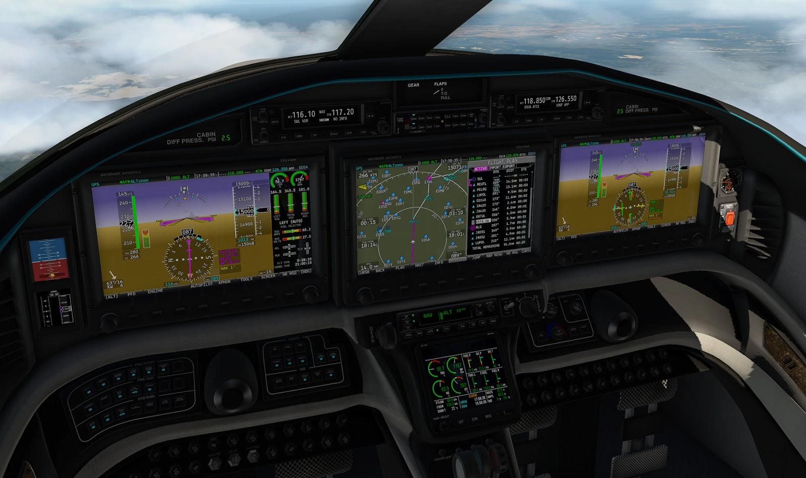 Aerobask Epic 1000 Skyview