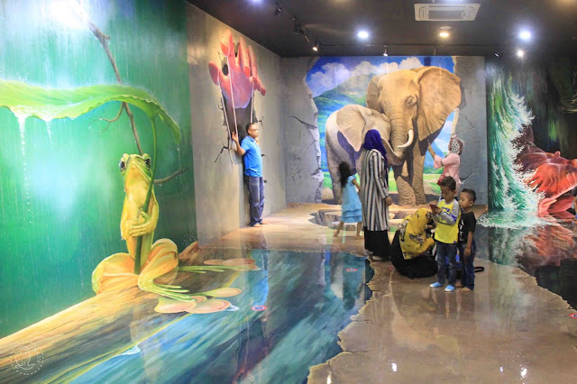 Magic Eye 3D Museum Bandara Kualanamu Internasional