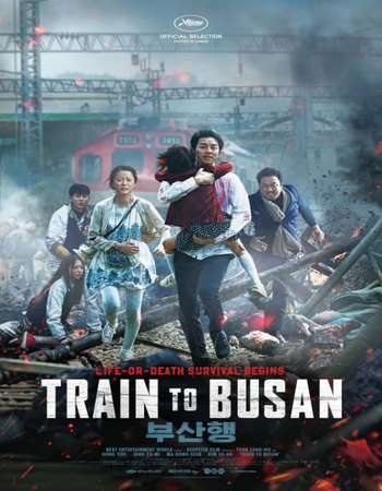 Poster Of Train to Busan 2016 Hindi ORG Dual Audio 500MB HDRip 720p ESubs HEVC Free Download Watch Online downloadhub.net