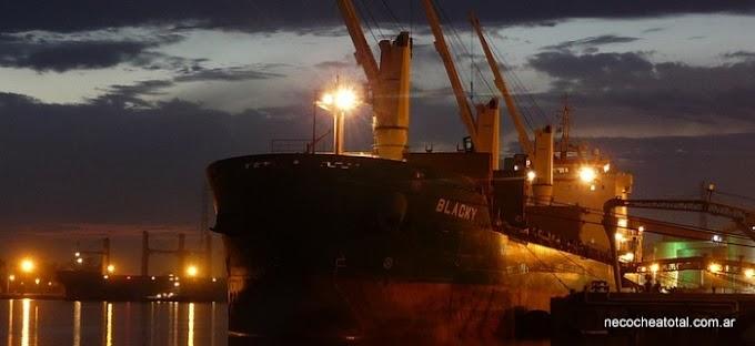 Puerto Quequén: remolcadores las 24 horas