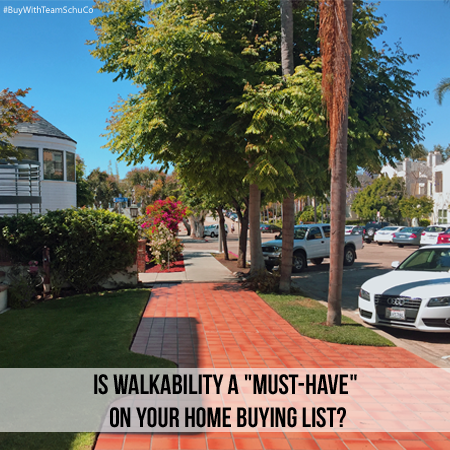 "Is Walkability A ""Must-Have"" On Your Home Buying List 
