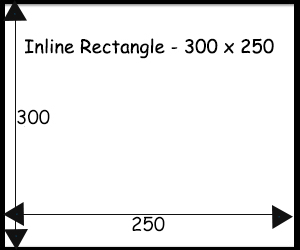 Inline Rectangle 300 x 250