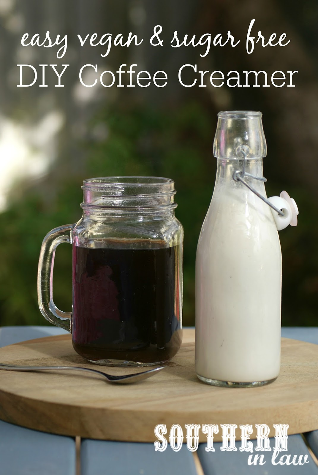 Recipe: Easy Vegan DIY Coffee Creamer (Or Sweet Cream!)