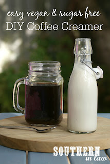 Homemade Vegan Cashew Coffee Creamer Recipe