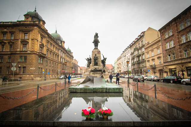Monumento a Grunwald-Cracovia
