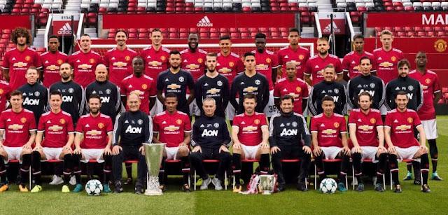 Daftar Pemain Manchester United 2018 - Skuat MU 2018