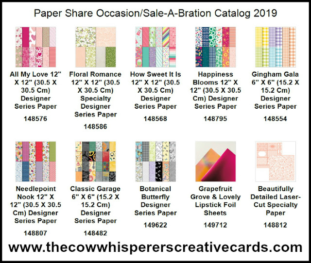 Occasions Catalog, Paper Share, Sale-A-Bration, Reserve