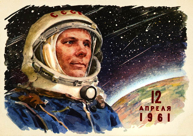 how was responsible for yuri gagarin in space flight - photo #23