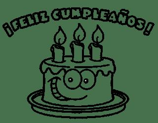 Dibujos de Feliz Cumpleaños 5