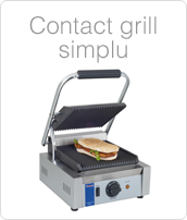 Contact Grill, Model Simplu, Contact Grill Pret, Utilaje Fast Food