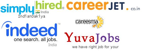 top 5 website for job search in india