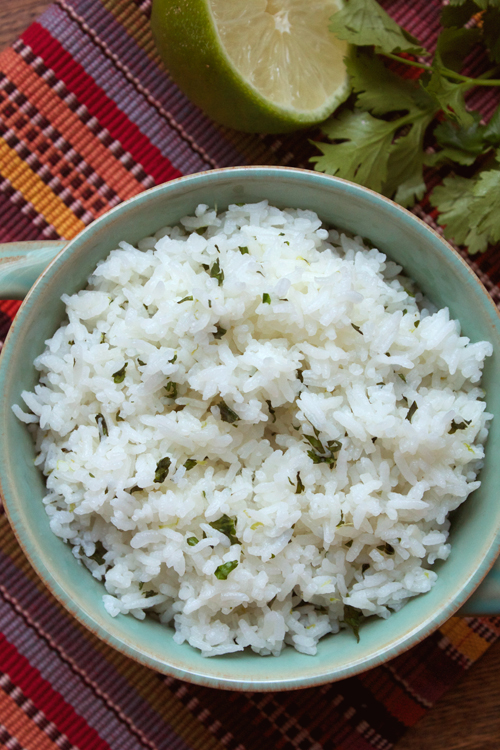 Cilantro-Lime Rice    A Less Processed Life