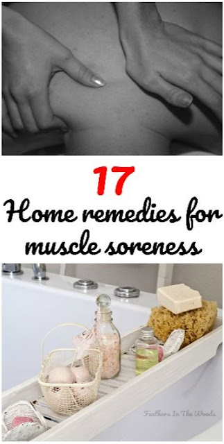home remedies for muscle soreness.