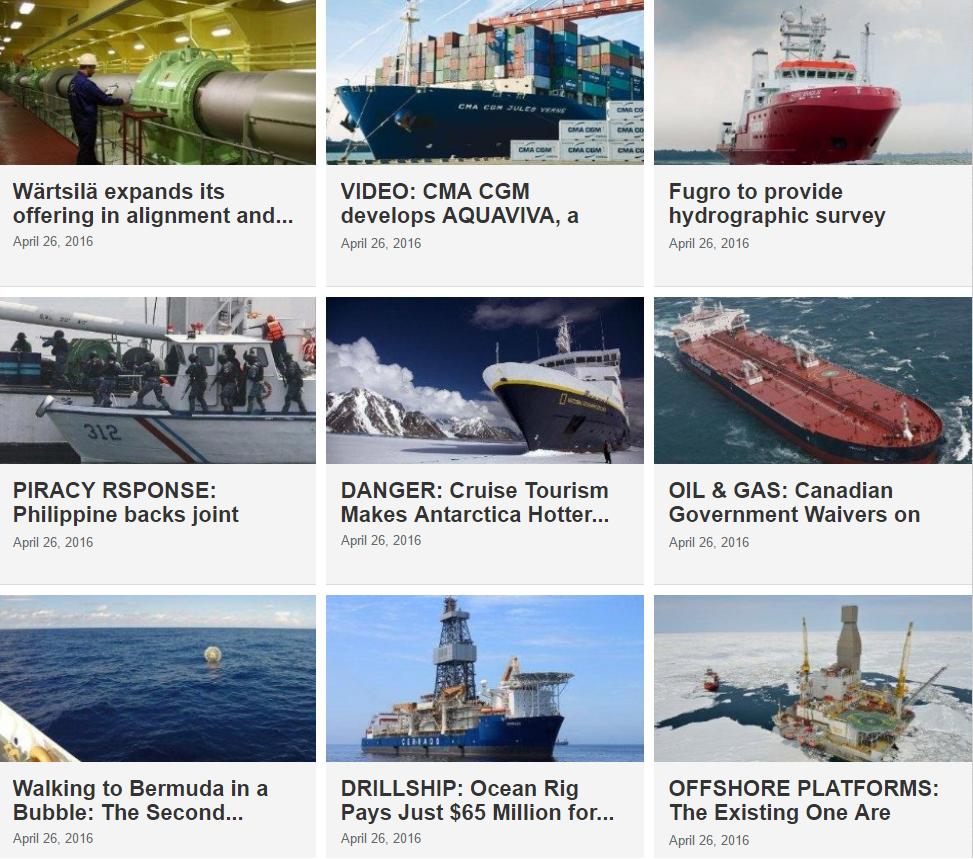 Maritime News 26 April 2016