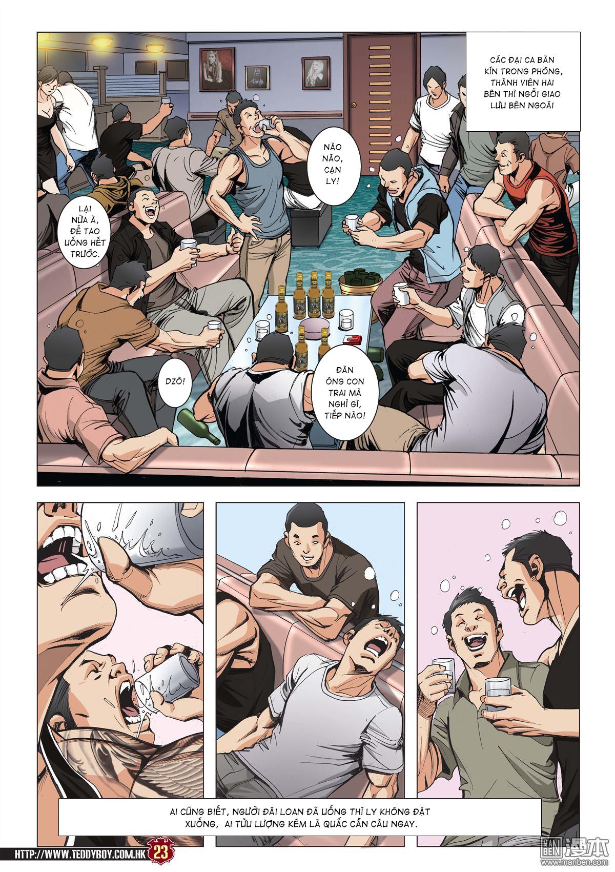 Người Trong Giang Hồ chapter 2045: câu chuyện thiên thu trang 22