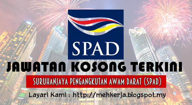 Jawatan Kosong Terkini 2016 di Suruhanjaya Pengangkutan Awam Darat (SPAD)