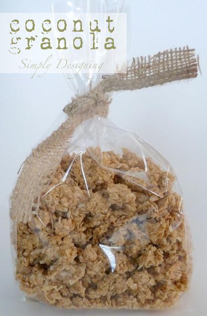 granola 01a Homemade Coconut Granola 11