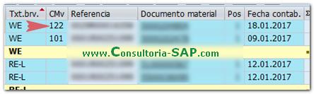 Anular entrada 101 con lote de inspección Consultoria-SAP
