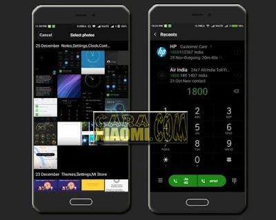 Link Download Theme MIUI Mi Note 2 Dark version For Xiaomi