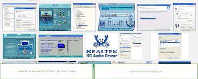 Realtek AC97 ses kartının driver dosyası.
