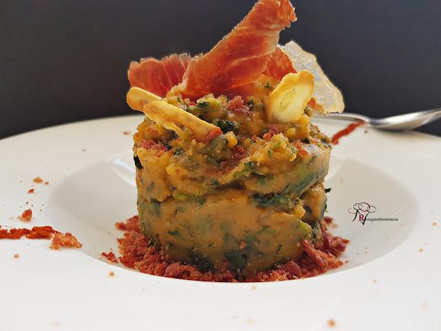 Revolconas de espinaca con sal de jamón