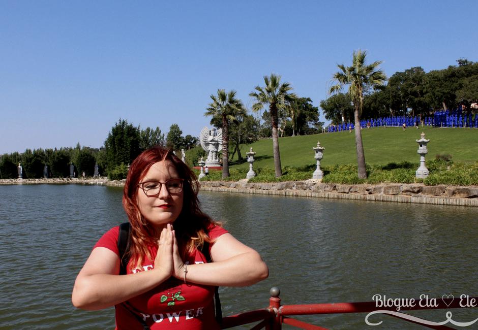 buddha eden + quinta dos louridos + quinta da bacalhôa +passeios + blogue de casal português + blogue ela e ele + ele e ela + pedro e telma + bombarral + budismo + portugal